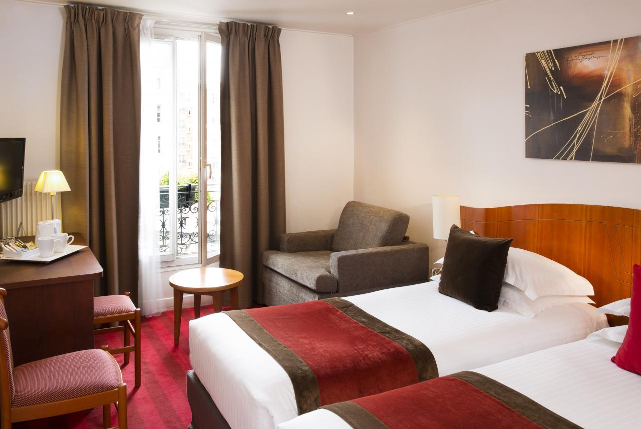 Europe Hotel Paris - Chambre Twin
